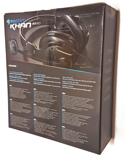 ROCCAT Khan AIMO Box Rear
