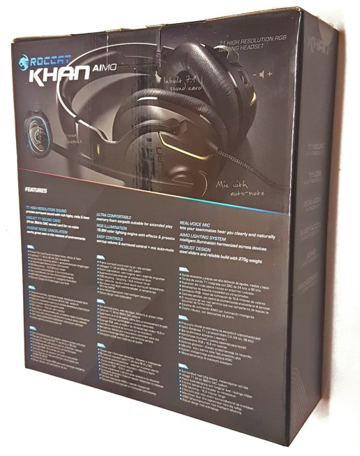 ROCCAT Khan AIMO Box Rear