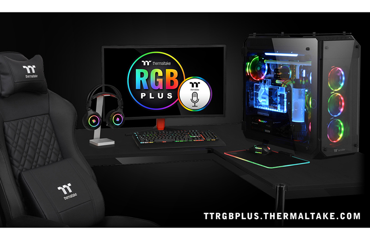 Thermaltake New TT RGB PLUS Ecosystem with TT AI Voice