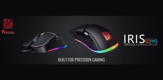 Tt eSPORTS Iris Optical RGB Gaming Mouse Available Worldwide Feature
