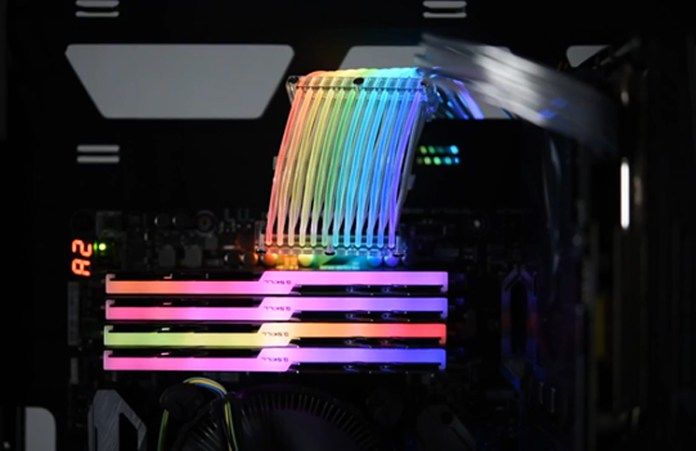 Lian Li Strimmer RGB Power Cable feature
