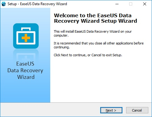 easeus data recovery wizard installer