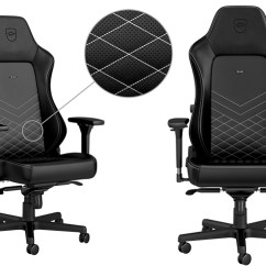 Gaming Chair Review Hanging Ceiling Hook Noblechairs Hero Play3r Noblechair Black And White Feature
