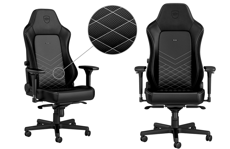gaming chair reviews 2016 hire covers cape town noblechairs hero review play3r noblechair black and white feature