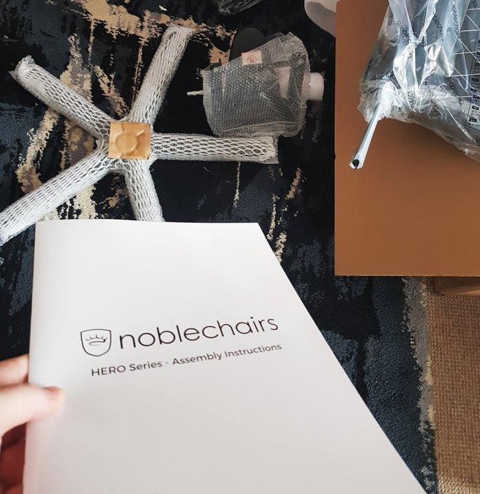 noblechair HERO instruction manual