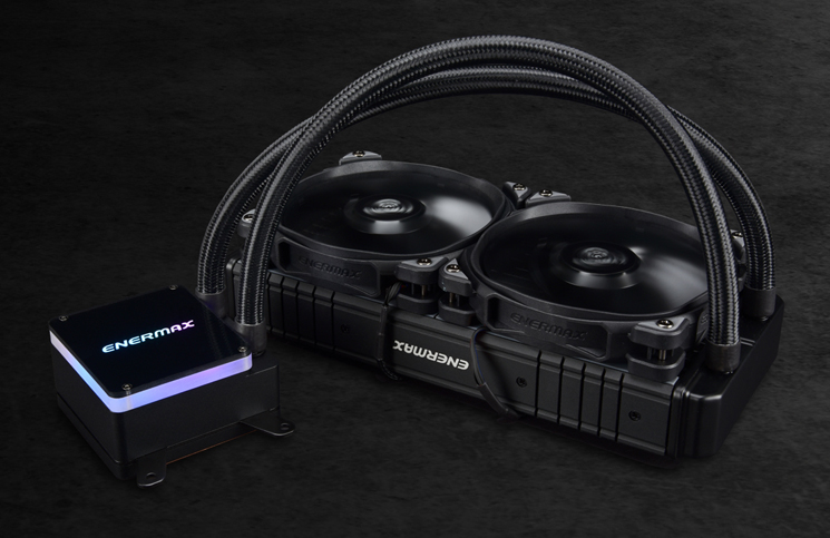 ENERMAX presents Liqtech TR4 II
