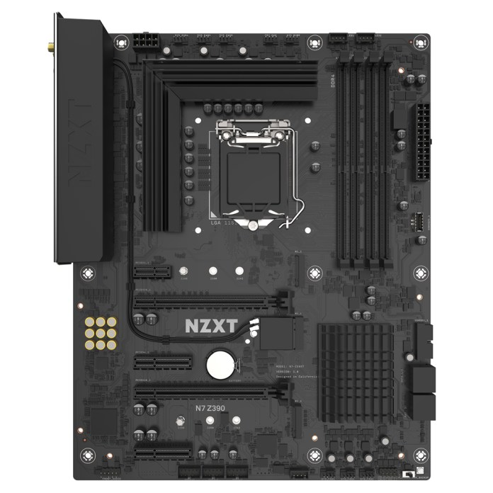 NZXT N7 Z390 Naked front