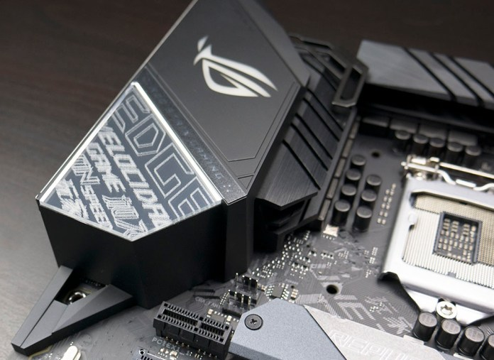 ASUS ROG STRIX Z390-E Gaming Motherboard Rear Panel