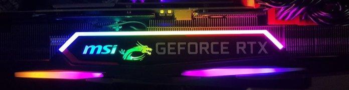 MSI RTX 2080 Ti Gaming X Trio Graphics Card RGB