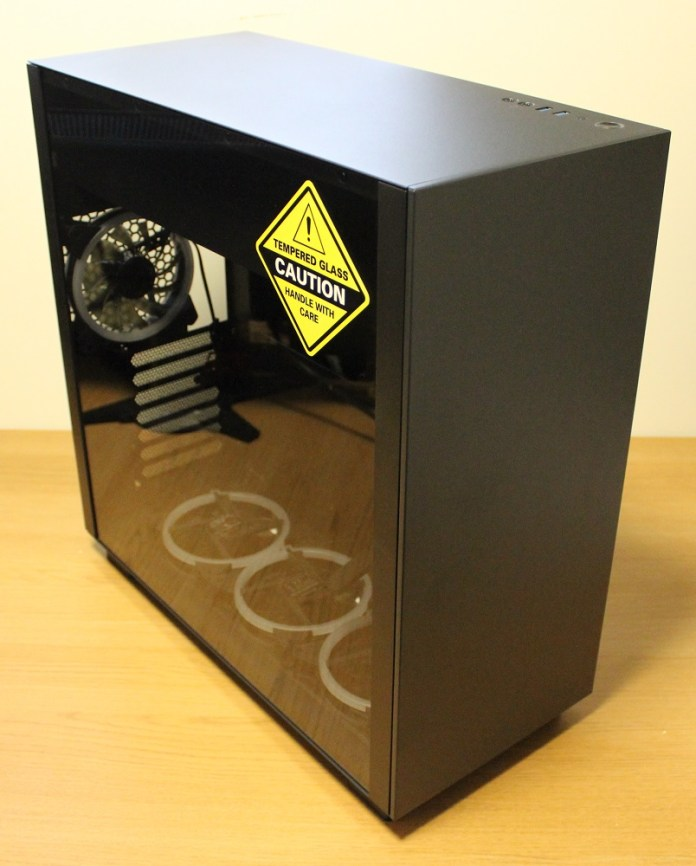 Sharkoon Pure Steel Case unboxed