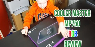 Cooler Master MP750 Soft RGB Mouse Pad Review