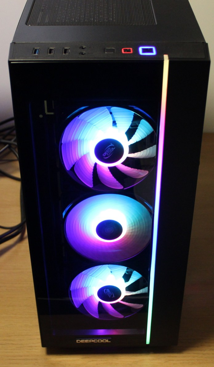 Deepcool Matrexx 55 Add RGB front powered on
