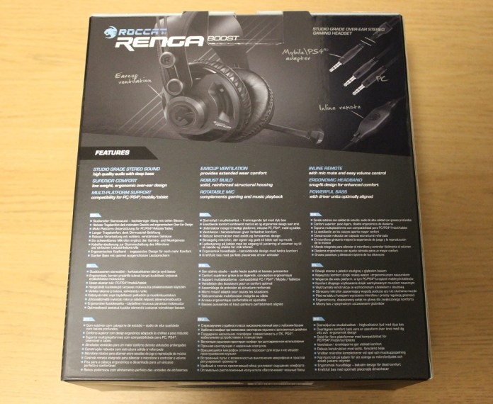 roccat renga boost box back
