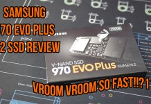 Samsung 970 EVO PLUS 250GB SSD Review
