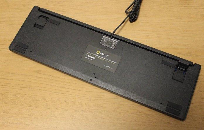 drevo tyrfing v2 keyboard underside
