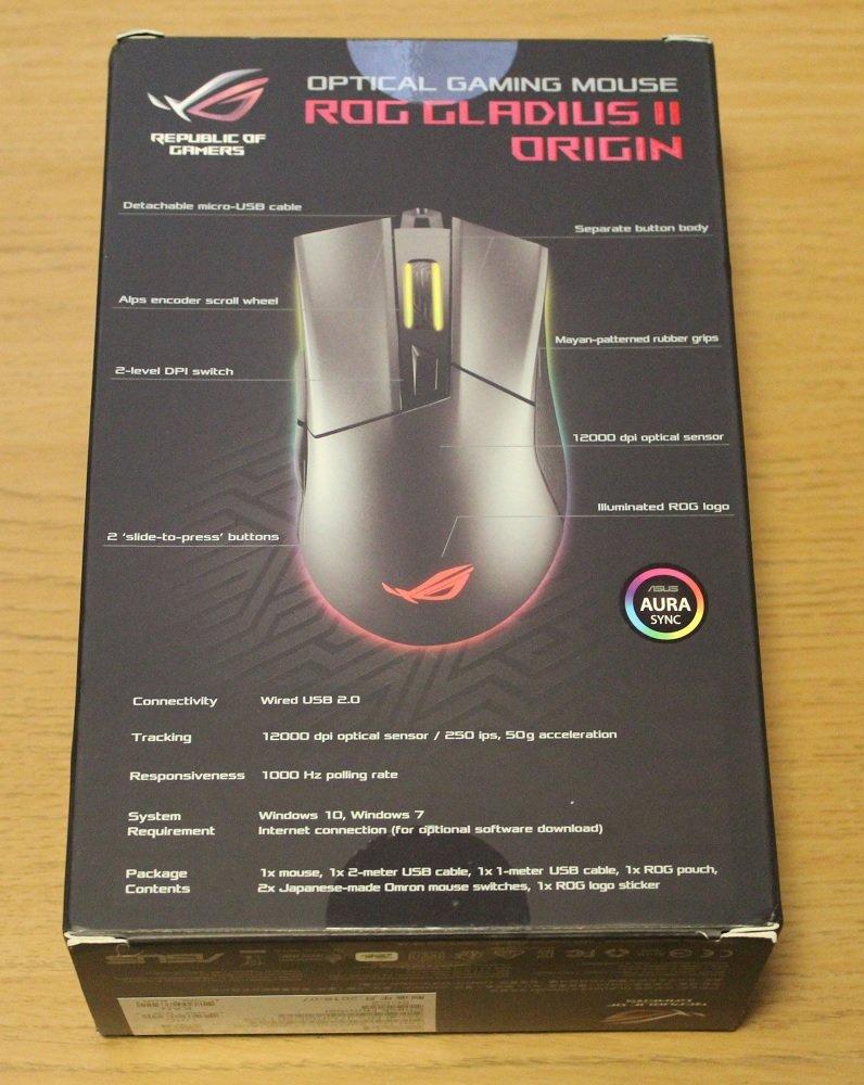 ASUS ROG Gladius II Origin Mouse Review   Play3r