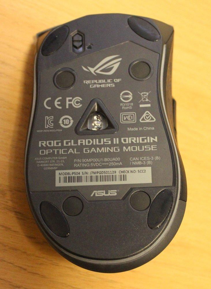 ASUS ROG Gladius II Origin Mouse Review | Play3r
