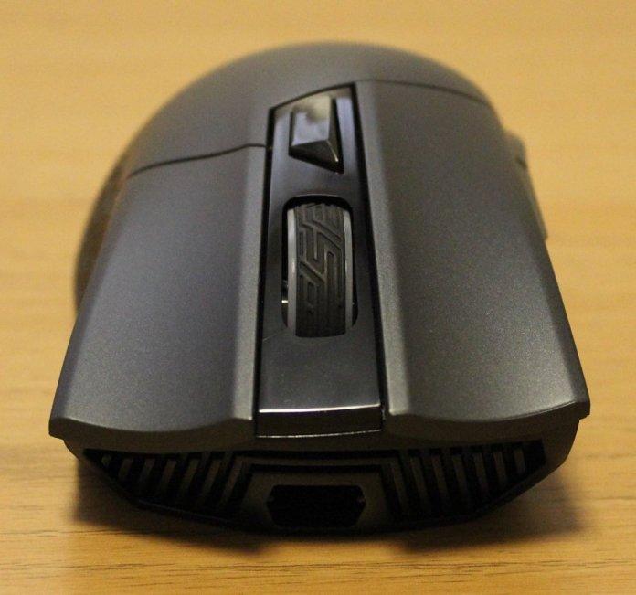 asus rog gladius II origin mouse front