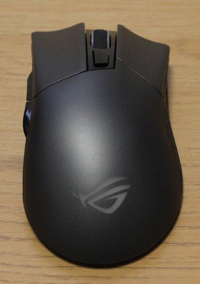 asus rog gladius II origin mouse top