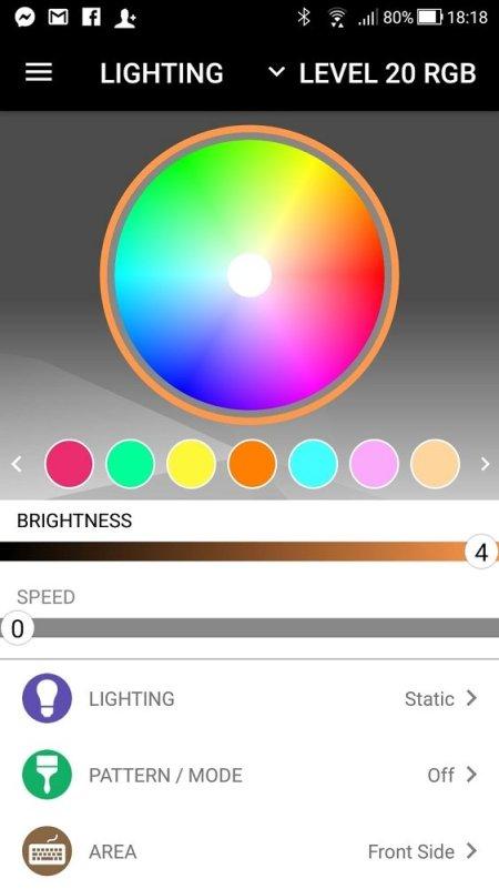 tt itake mobile app lighting