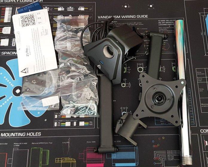 Arctic Z1 Pro Gen3 Single Monitor Arm 2