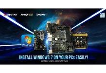 BIOSTAR Announces Windows 7 support