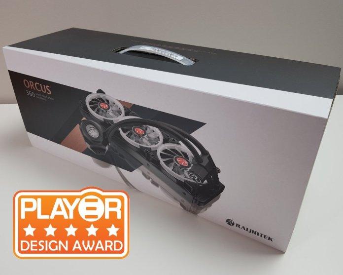 Raijintek Orcus 360 award