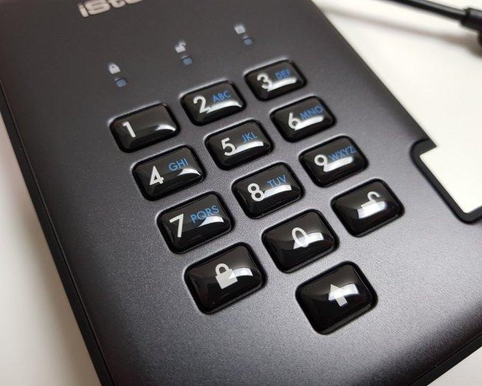 iStorage diskAshur Pro2 keypad