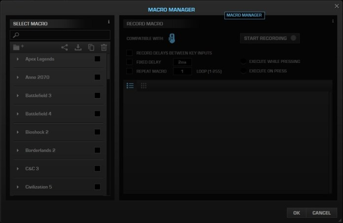 roccat swarm macro manager