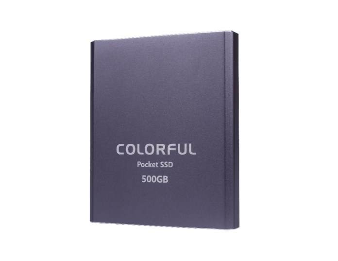 COLORFUL Pocket SSD 500GB