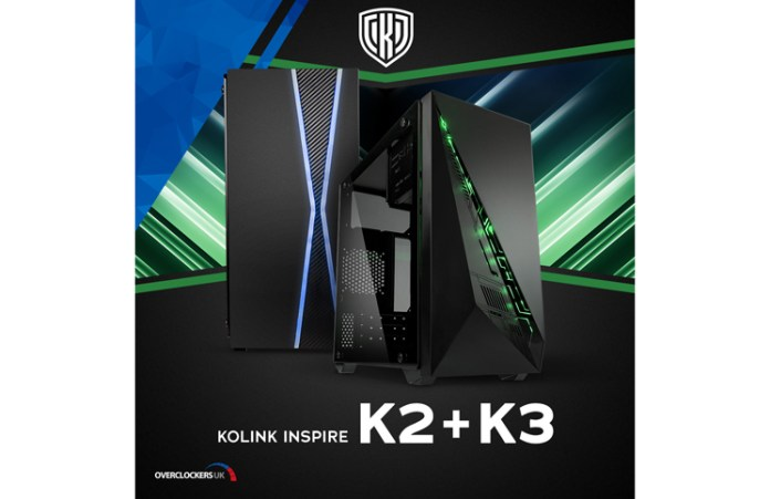 Kolink Inspire K2 and K3 Feature