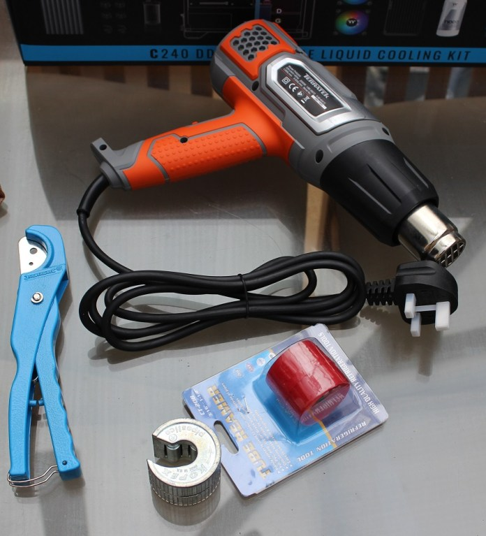 thermaltake c240 ddc not included in kit