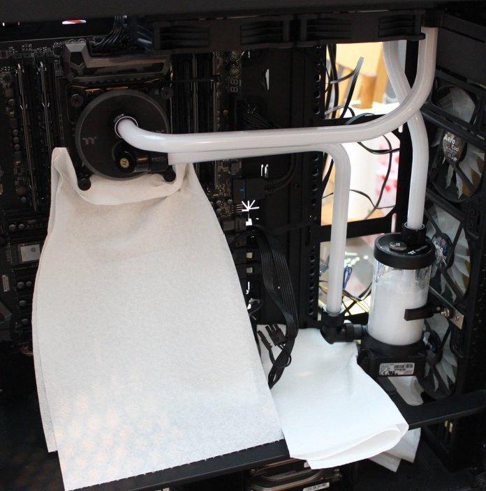 tt c240 ddc hard tube kit leak testing