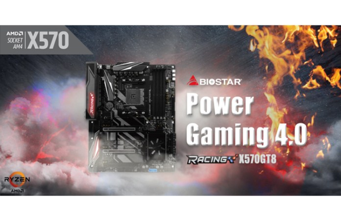 BIOSTAR Launches RACING X570GT8 Motherboard