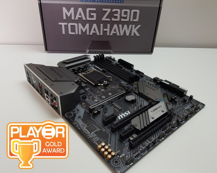 MSI MAG Z390 Tomahawk Gold Award