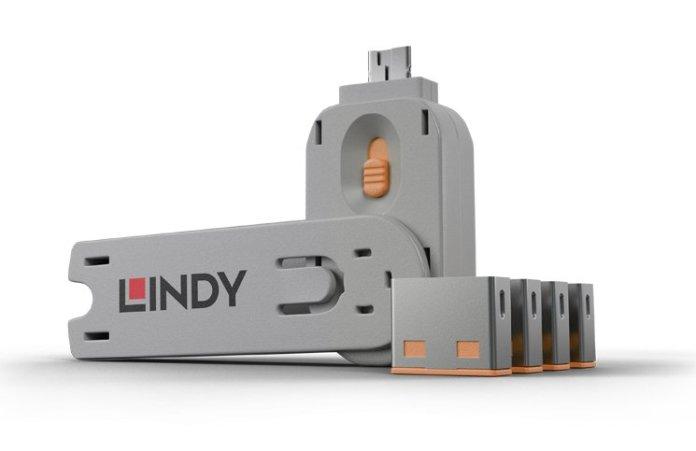 Lindy Key PortBlockers Orange