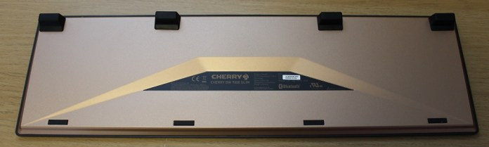 Cherry DW9000 Slim keyboard with risers