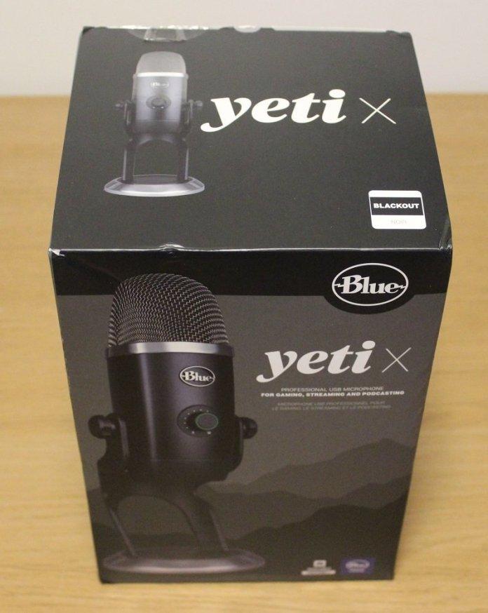 Blue Yeti X Box front