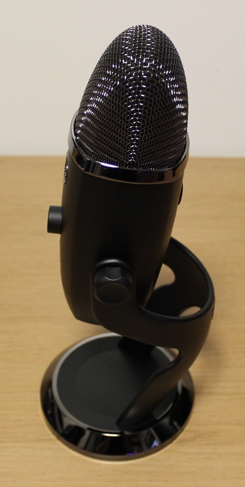Blue Yeti X Box microphone left