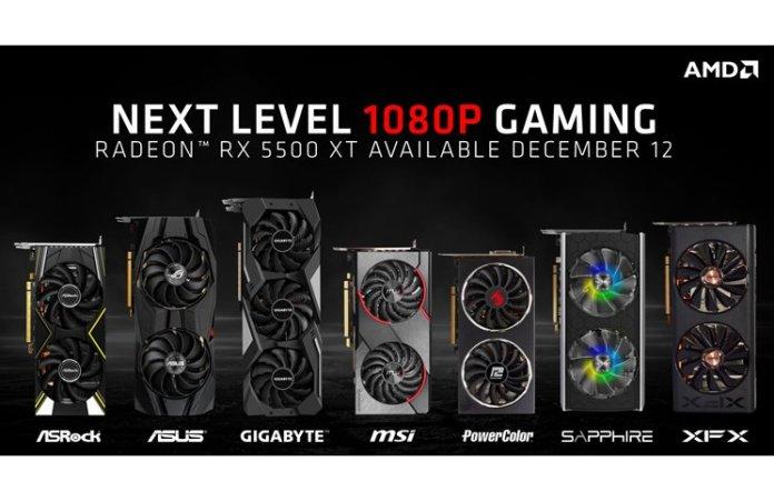 AMD Radeon RX 5500 XT Group Feature