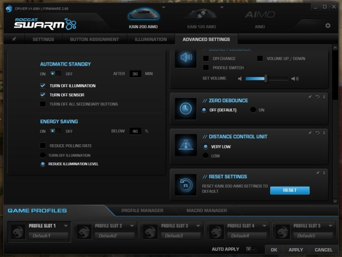 Roccat Swarm Aimo 200 advanced b