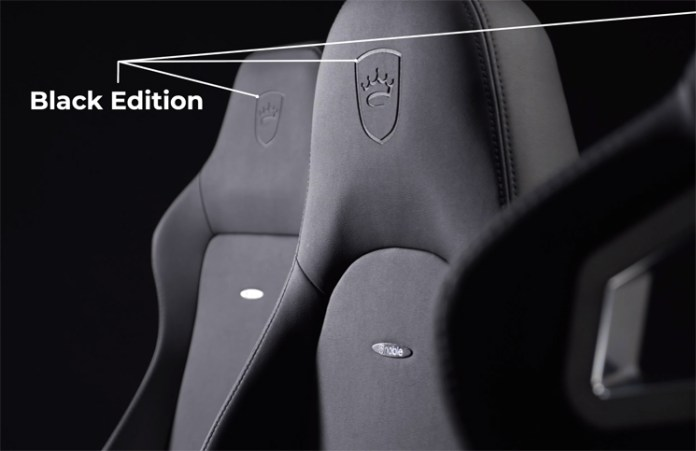 noblechairs adds 'Black Edition' to Gaming Chair Range