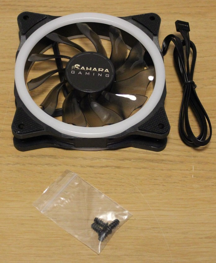 Sahara 120mm Pirate Duo Rings Fan