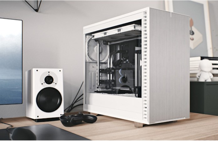 An example watercooled build in a Fractal Design Define 7