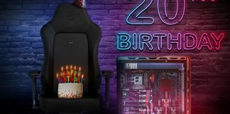 Overclockers UK 20th Birthday banner