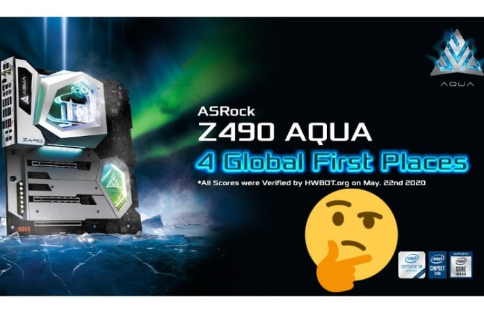ASRock Marketing Lie: No, the Z490 AQUA Did Not Win 4 GFPs