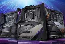 Three flagship Z490 boards for comet lake under the GIGABYTE AORUS banner