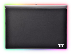 Thermaltake Argent MP1 RGB Mouse Pad. It's a mouse pad, but thicker to accomodate RGB LEDs.
