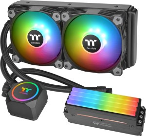 The Thermaltake Floe RC240 with TOUGHRAM RC modules.