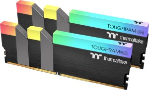 The black version of the TT toughram rgb 32GB and 64GB. May feel less matte and more brushed than the white version.